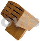 6600BN WASABI Bambusový blok na nože, na 8 ks