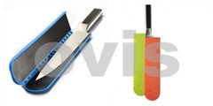 BISBELL Magnetický kryt-pouzdro na nože, barevný, 2ks, 250*55mm