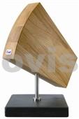 DM-0794 Dřevěné magnetické prkénko na nože SHUN, materiál dřevo, kámen, nerez - dokonalé provedení!