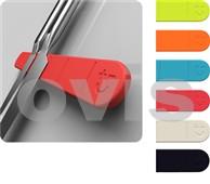 BISBELL Magnetický držák na nože červený, 300mm